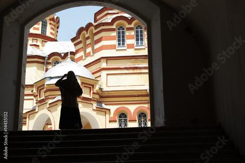 Valokuva  In church