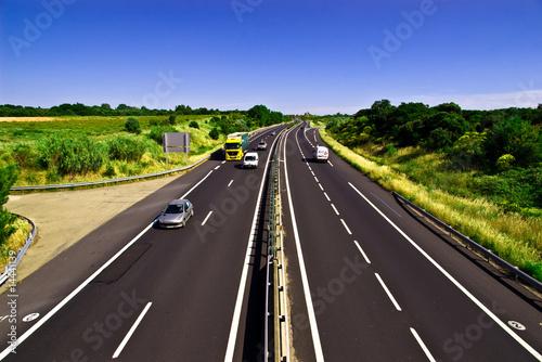 Fotografie, Obraz  autoroute