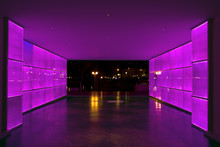 Purple Light Tunnel
