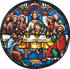 NaklejkaThe Last Supper (Luke 22 7-23)