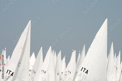 Staande foto Zeilen sailing race