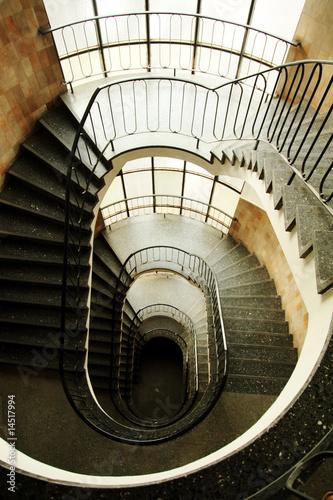 Fototapety, obrazy: Treppenhaus