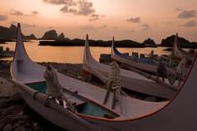 Boats At Sunrise