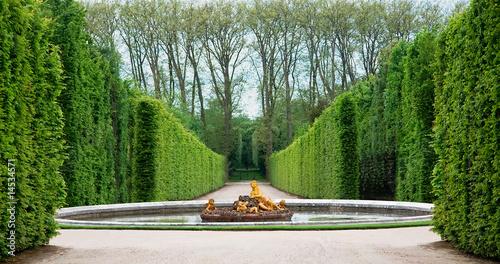 Photo Stands Paris Versailles Garden, France