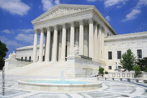 US Supreme Court in Washington, DC Poster