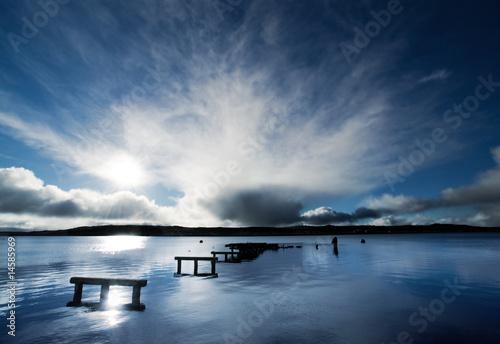 Foto-Kissen - Peaceful Harbour