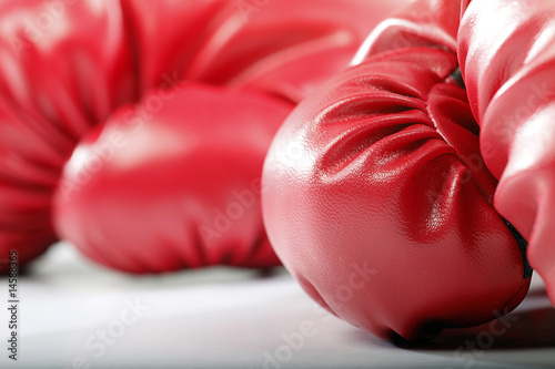 Fotografía  Red Boxing Gloves