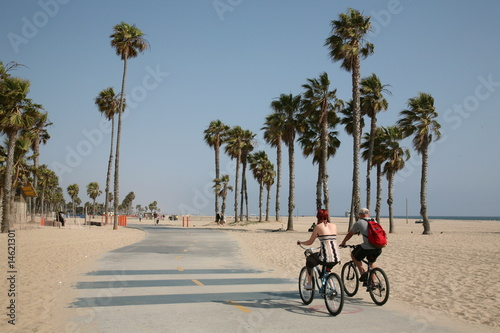 Photo sur Aluminium Los Angeles santa monica beach