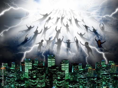 Valokuvatapetti The Rapture