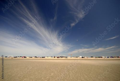 Foto-Schiebegardine Komplettsystem - Danish beach