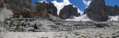 Refuge Alimonta Dolomites groupe Brenta Fotobehang