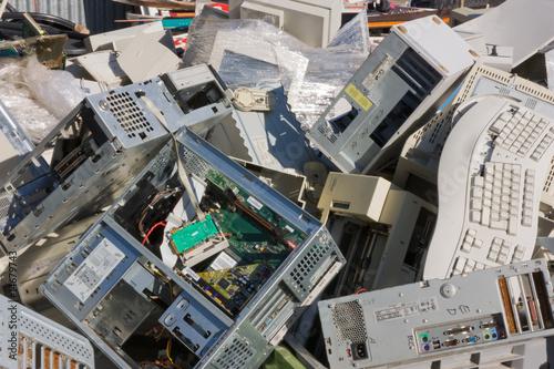 Fotografia, Obraz  electronic waste