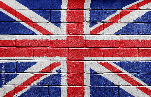 UK flag Wallpaper Mural