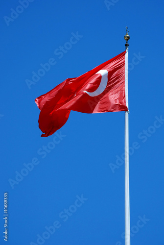 Photo  Turkey flag