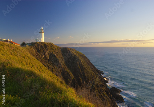 Cape Byron Lighthouse. Eastmost point of Australia Poster Mural XXL
