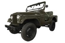 Vintage Army Jeep