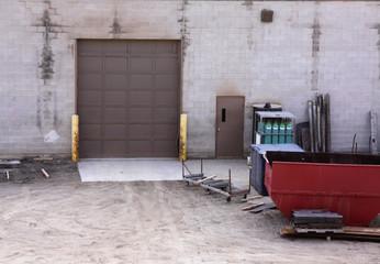 Industrial Warehouse Loading Door