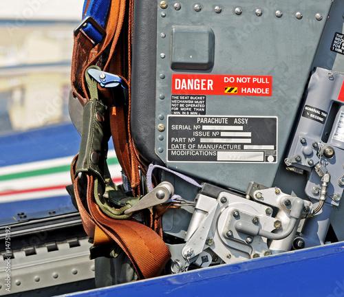 menu di emergenza aereo Canvas Print
