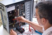IT Engineer Working