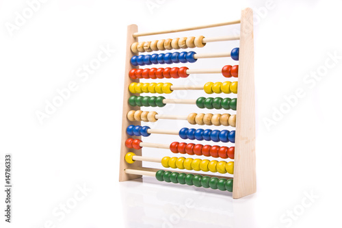 abacus Canvas Print