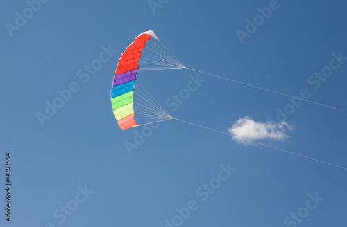 Foto op Canvas Luchtsport Flying kite