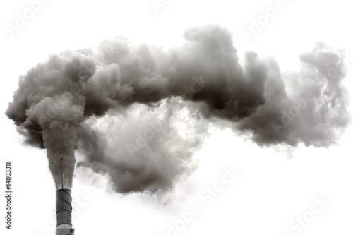 Fotobehang Rook Dyrty smoke