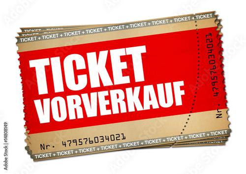 Fotografía  Ticket Vorverkauf