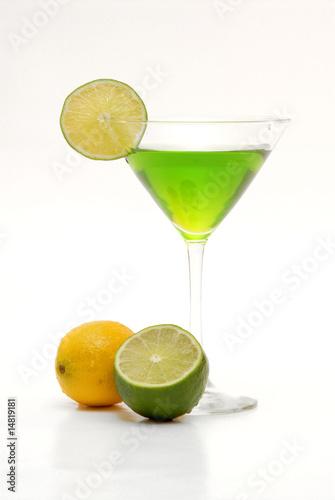 Staande foto Opspattend water citrus martini