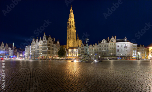 Canvas Prints Antwerp Centrum Antwerpen