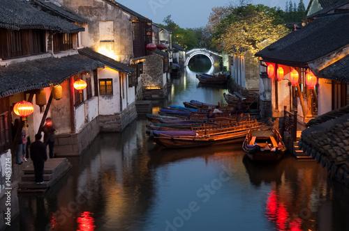 Foto op Aluminium Shanghai Zhouzhuang