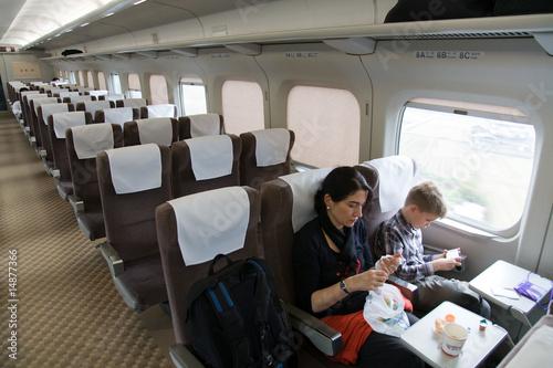 Tuinposter Im Shinkansen
