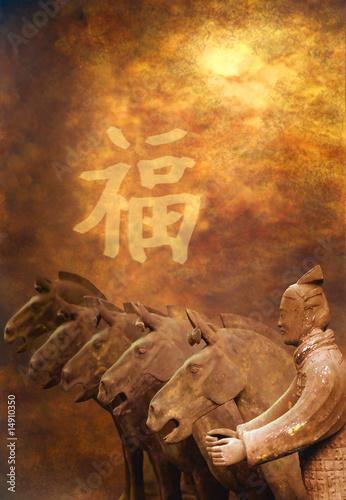 Foto op Aluminium Xian xian