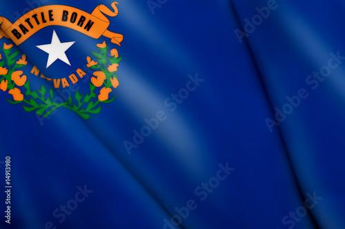 Flag of Nevada (USA) Poster