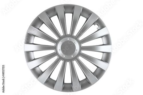 Fotografie, Obraz  hubcap isolated