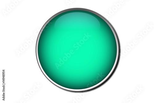 Fényképezés  Bottone color acqua