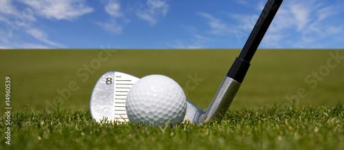 Fotografie, Obraz Golf - Werbebanner
