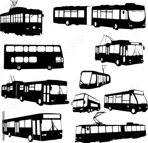 Платно urban transportation - vector