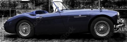 Stickers pour porte Vintage voitures Cars