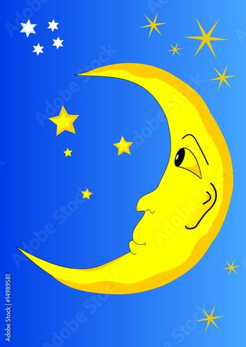 Papiers peints Ciel moon