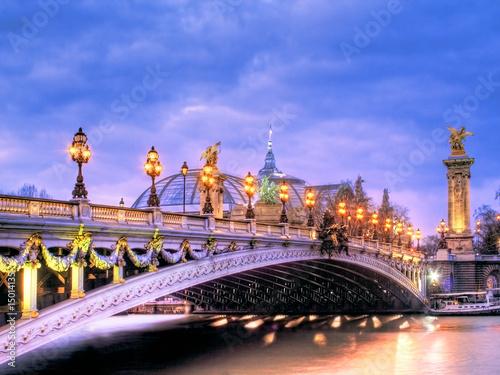 Foto-Kassettenrollo premium - Pont Alexandre Trois (von Serge Ramelli)