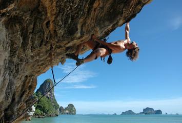 Fototapeta Enjoy climbing!