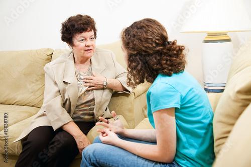 Fotografía  Counseling Session - Empathy