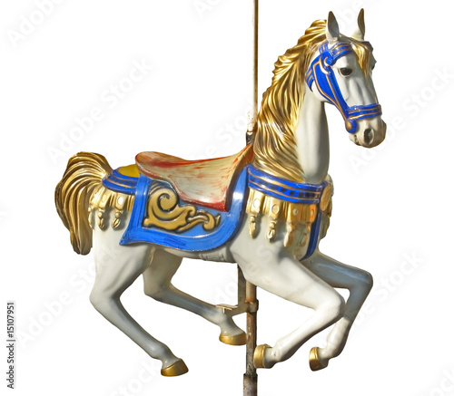 Valokuva  Carousel's horse