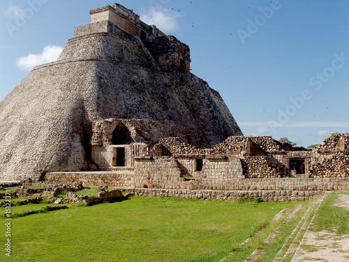 Fototapeta uxmal maya