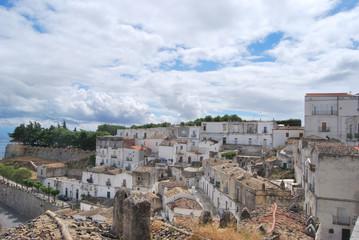 Fototapeta na wymiar Monte Sant'Angelo - Gargano - Puglia - Italy