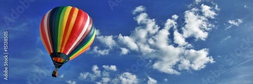 Nuages et ballon