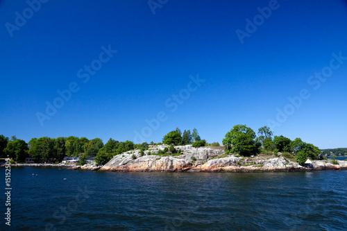 Photo  Kleininsel im Stockholm-Archipel,Schweden