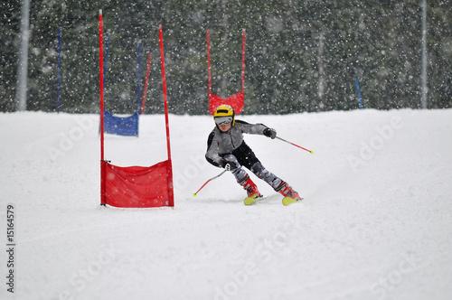 Fotografía  ski race