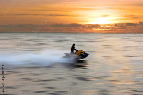 Poster Water Motor sporten jetski