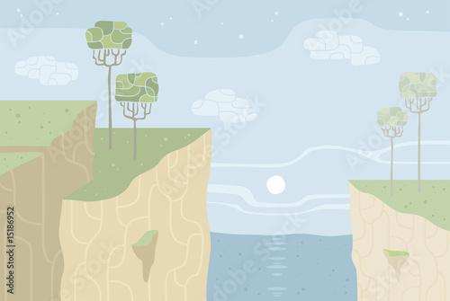 Poster Ciel Landscape